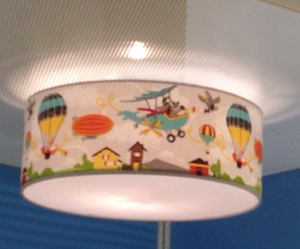plafonlamp babykamer flying animals