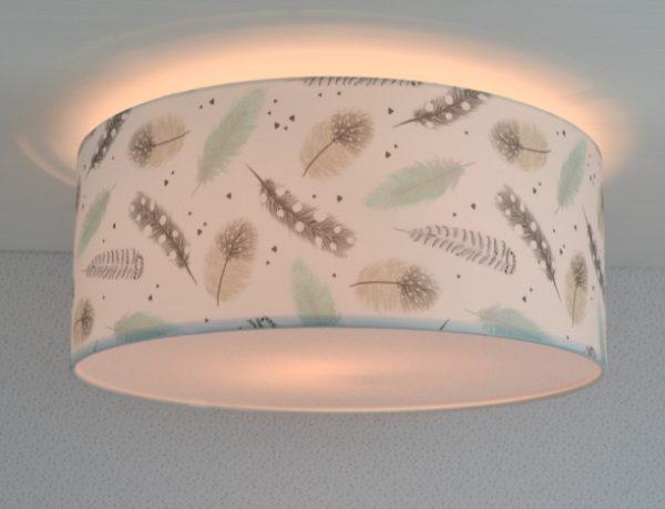 plafondlamp veertjes