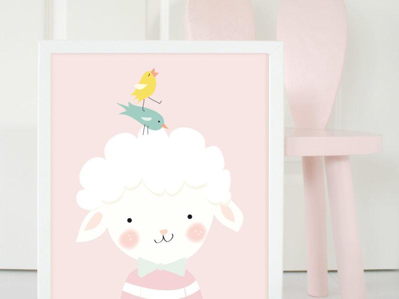babykamer accessoires pastel mimirella