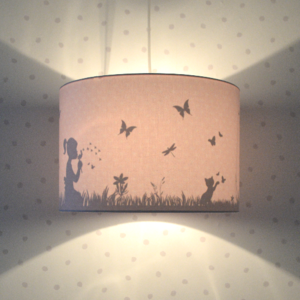 Land of Kids hanglamp dandelion roze
