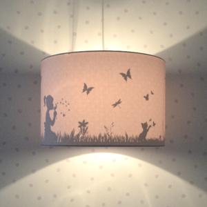 Land of Kids hanglamp dandelion roze