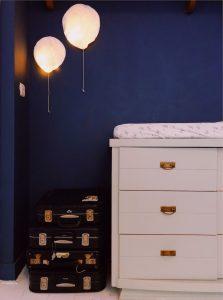 Ballon lamp papier
