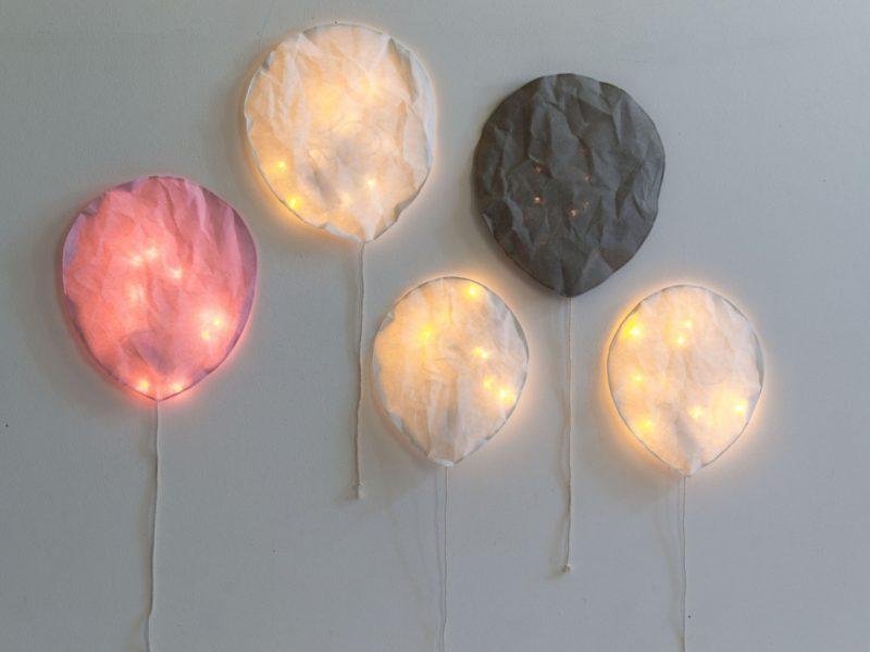 LEd balloon lights Ekaterina Galera