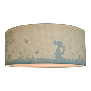 Land of Kids silhouette plafondlamp mint