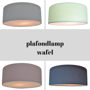 Land of Kids wafel plafondlamp babykamer