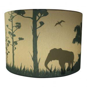 Safari Silhouette lamp camel