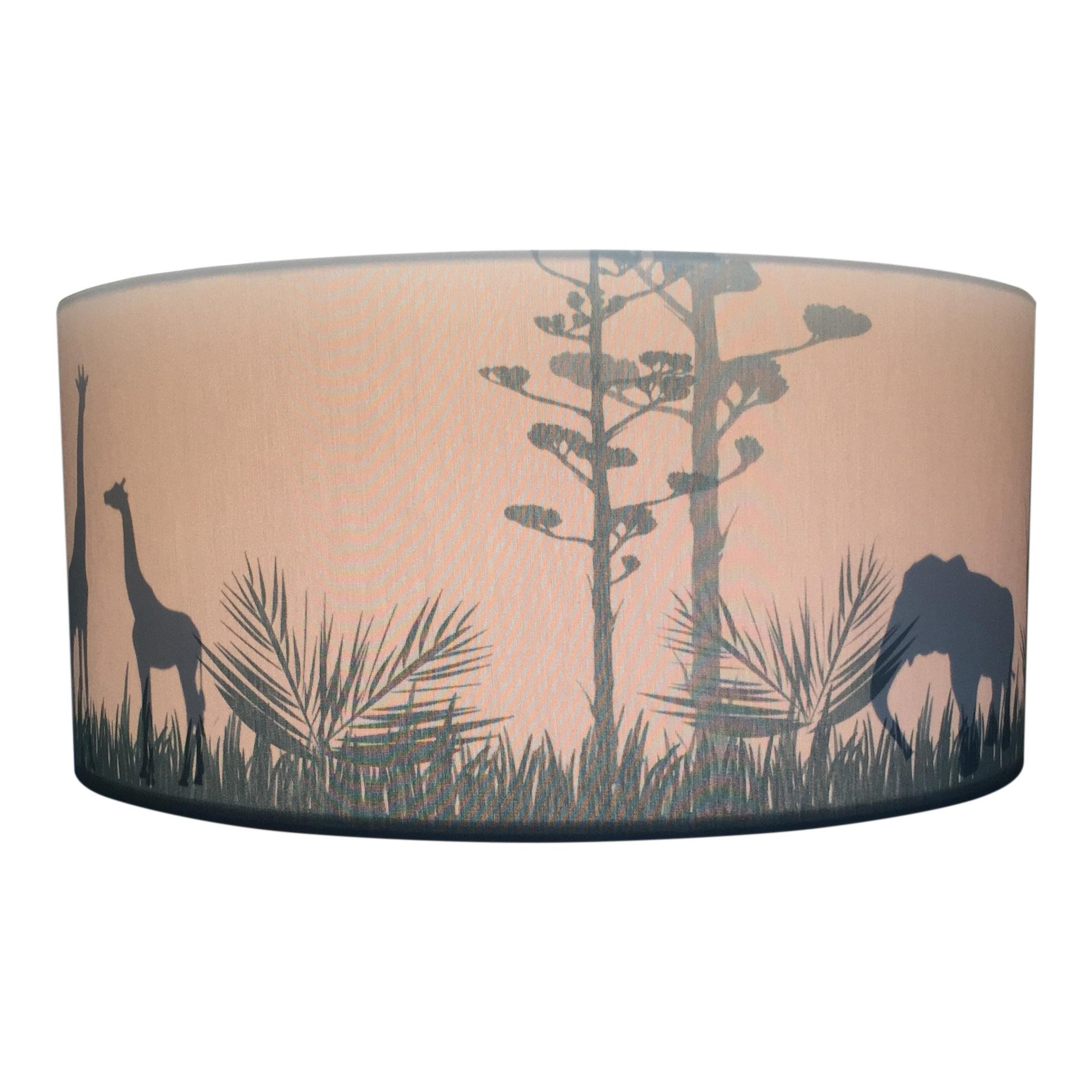 Hanglamp Voor Jongenskamer.Lamp Kinderkamer Safari Silhouette Camel Prachtige Safari