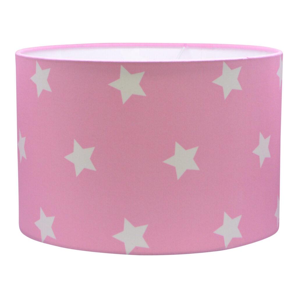 hanglamp roze met sterren